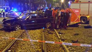 Tragiczny wypadek w sylwestrową noc. Zginęła kobieta, kierowca BMW pijany