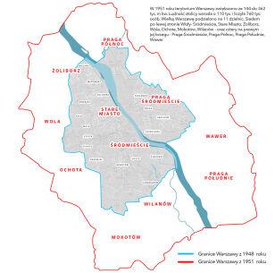 Zmiana granic Warszawy