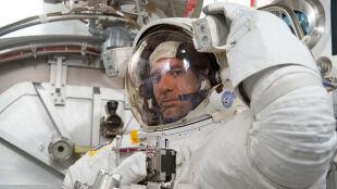 Trzeba było przerwać spacer kosmiczny: woda pojawiła się w hełmie astronauty