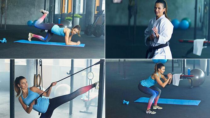 Jak wzmocnić mięśnie nóg? Pokazuje Ania Lewandowska