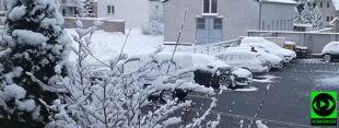 Zima nie daje o sobie zapomnieć. Pokazujecie, gdzie spadł śnieg