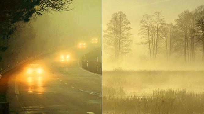 Poranne mgły: malownicze, lecz groźne dla ruchu
