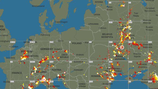 Lokalnie grzmi. Sprawdź, gdzie jest burza