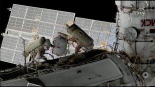 Wyszli na zewnątrz ISS. Za nimi pierwszy spacer kosmiczny w tym roku