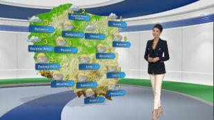 Prognoza pogody na wtorek 1.12