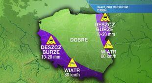 Warunki drogowe w czwartek 04.06